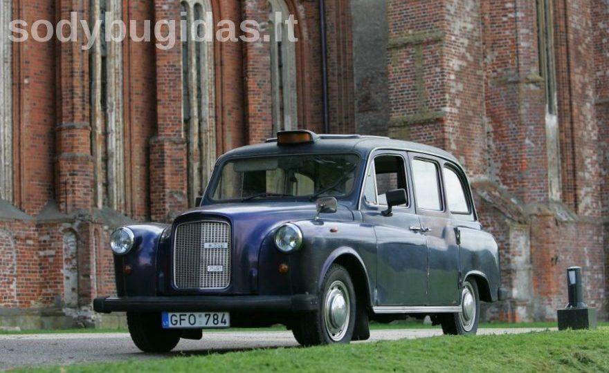 angliškas taksi automobilis