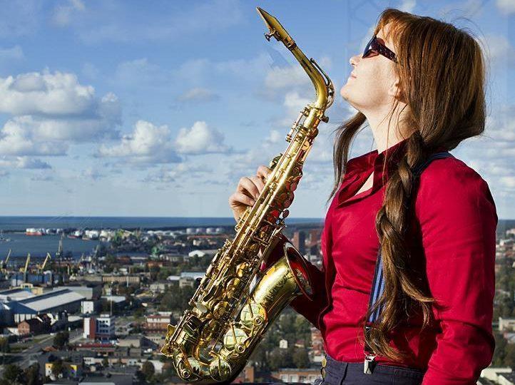 Saksofonistė Karina Astrauskaitė