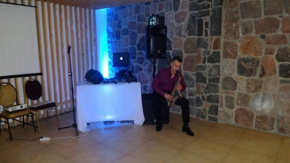 Saksofonistas Saulius Birinis