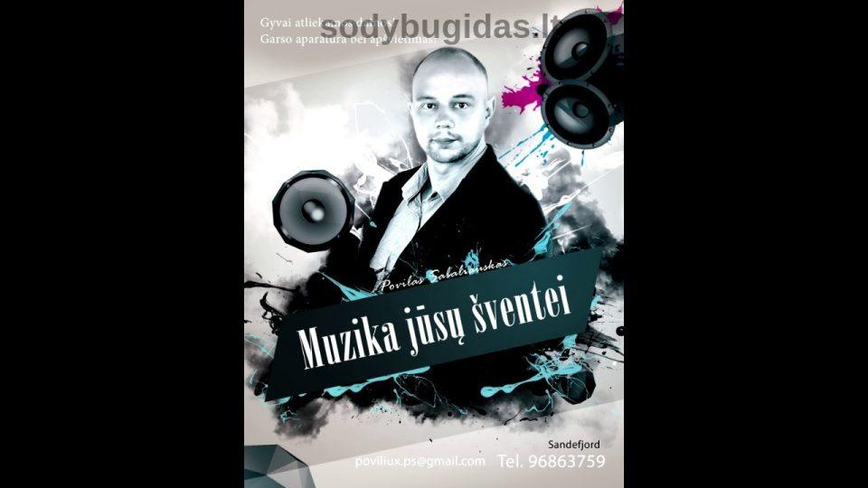 Švenčių muzikantas Povilas Sabaliauskas
