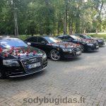 Automobilių nuoma vestuvėms D&D Auto
